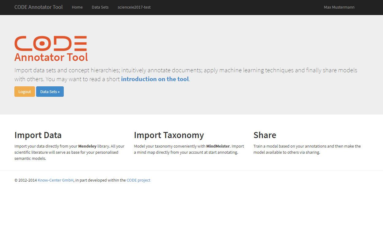 CODE Annotator Tool