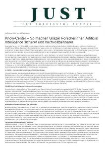 Know-Center – So machen Grazer ForscherInnen Artificial Intelligence sicherer und nachvollziehbarer