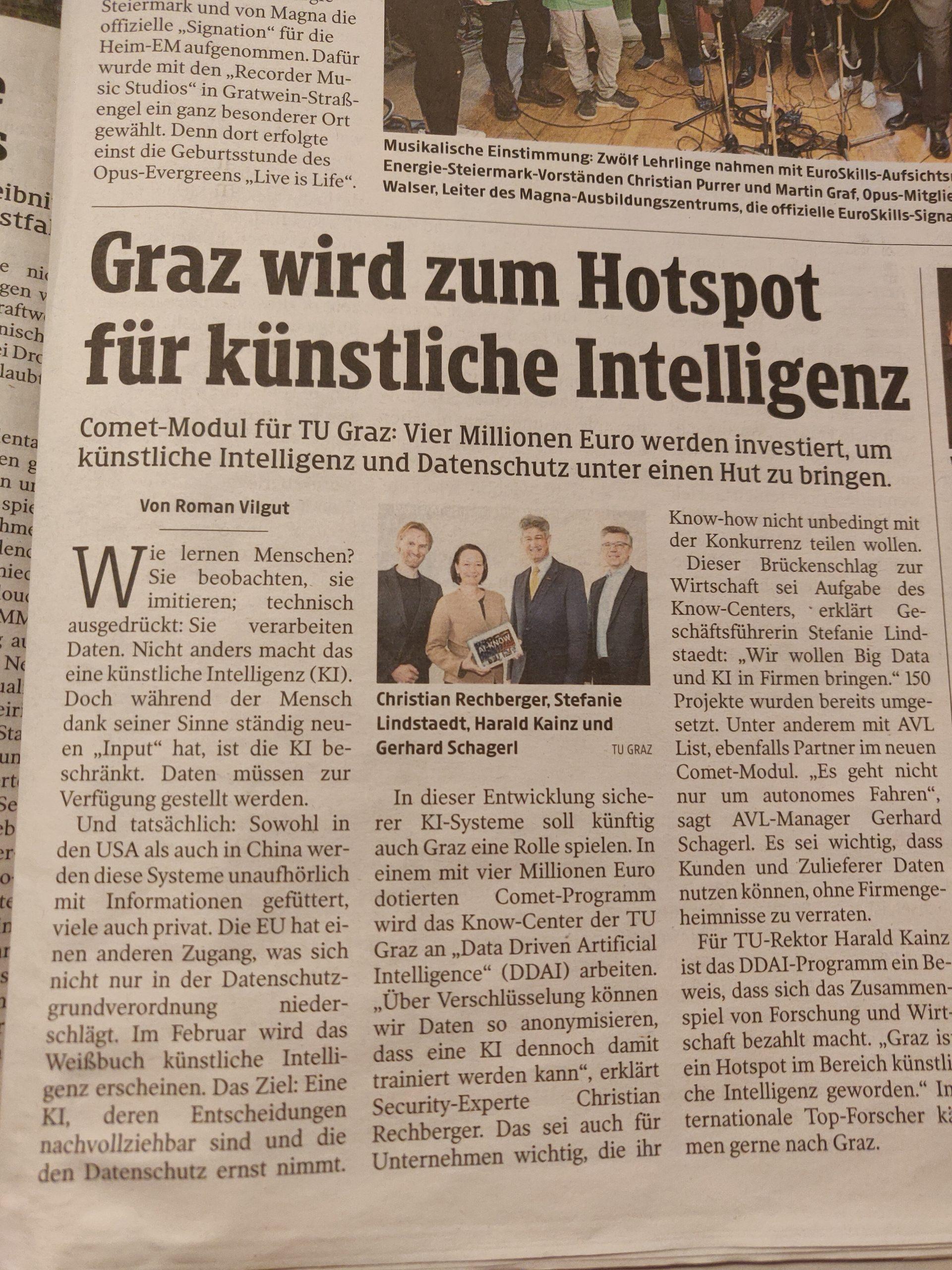 2020-02-11_Graz wird zum Hotspot für KI