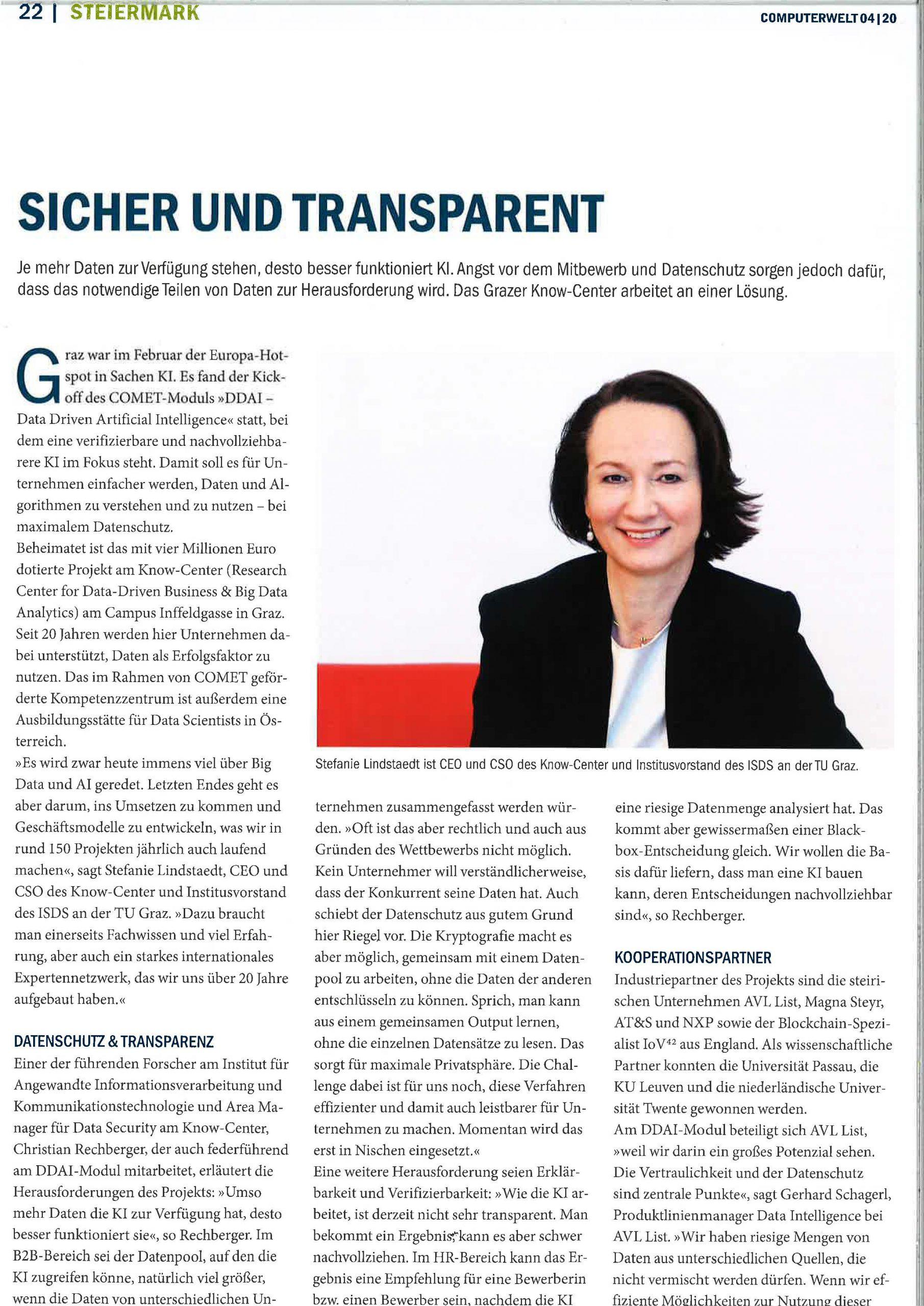 2020-04-22_Compunterwelt_Sicher und Transparent_Seite_1