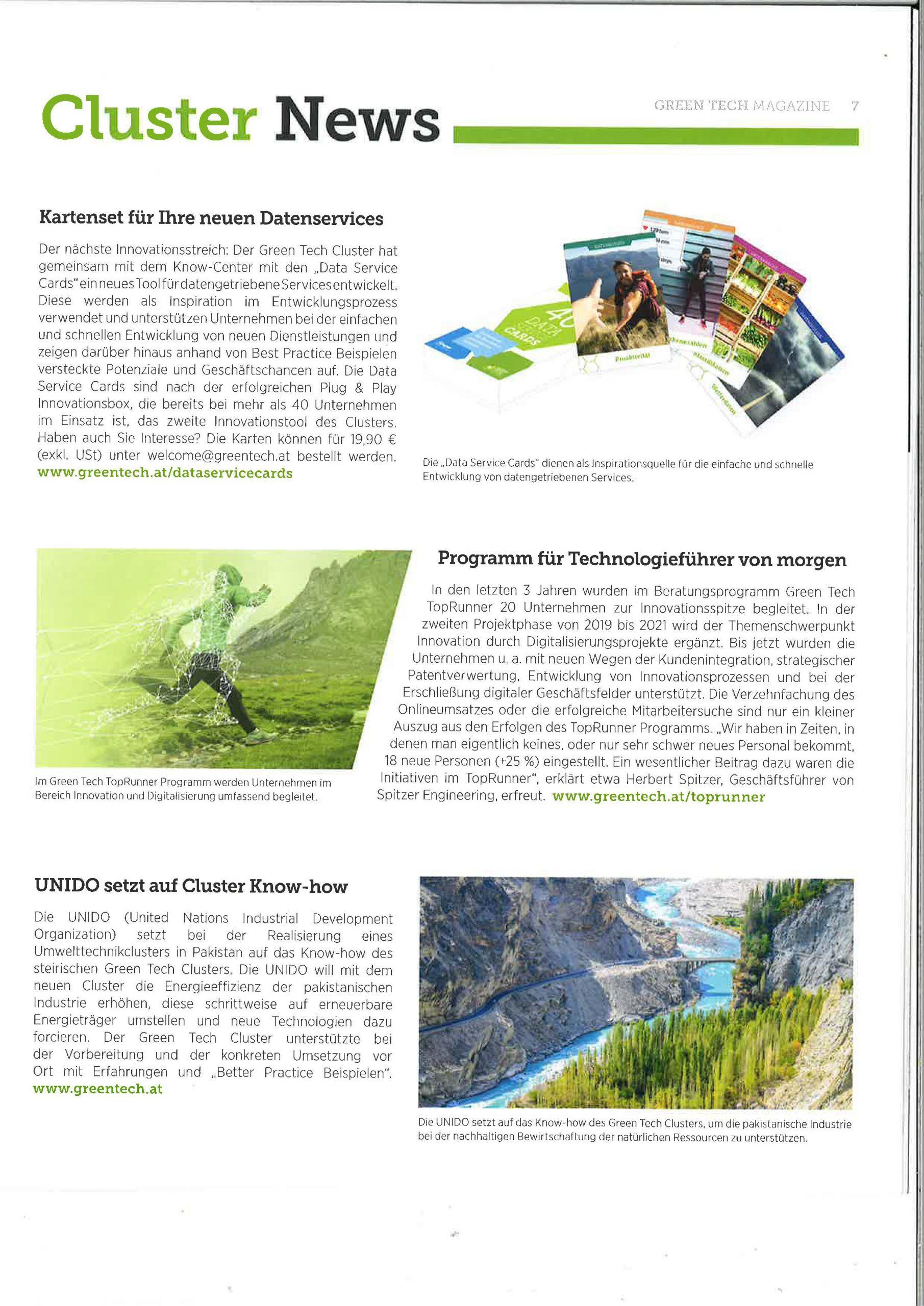 2020-06-08_GreenTechMagazin_Kartenset für Ihre nuen Datenservices