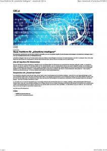 Neue Plattform für künstliche Intelligenz