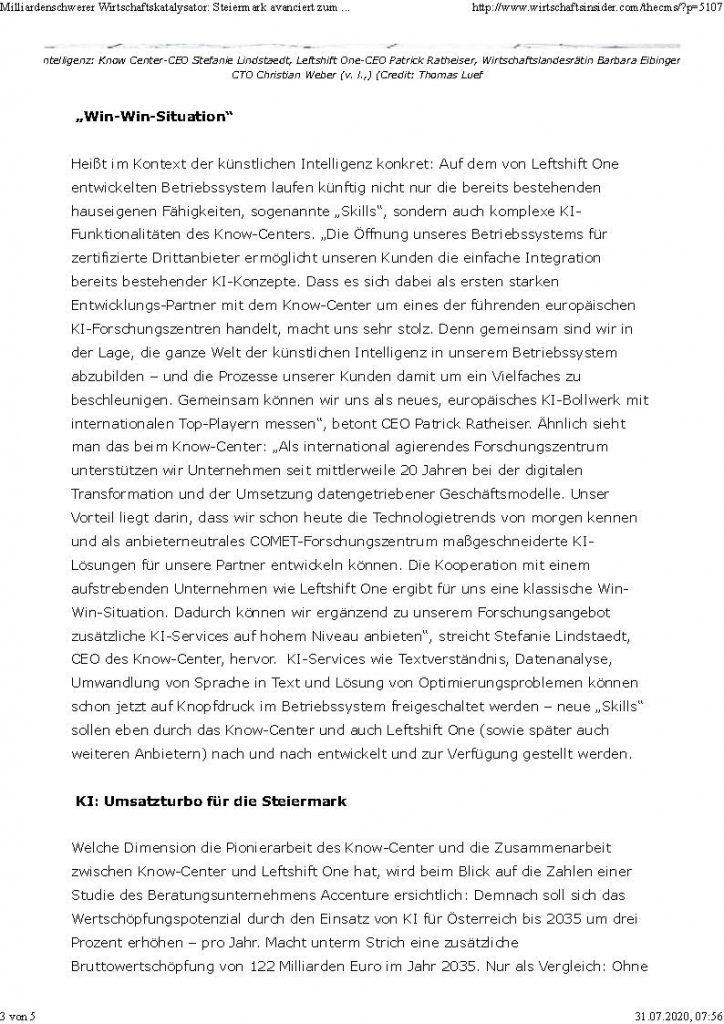 2020-07-10_Wirtschaftsinsider_Milliardenschwerer Wirtschaftskatalysator-Steiermark avanciert zum Zentrum für KI_Seite_3