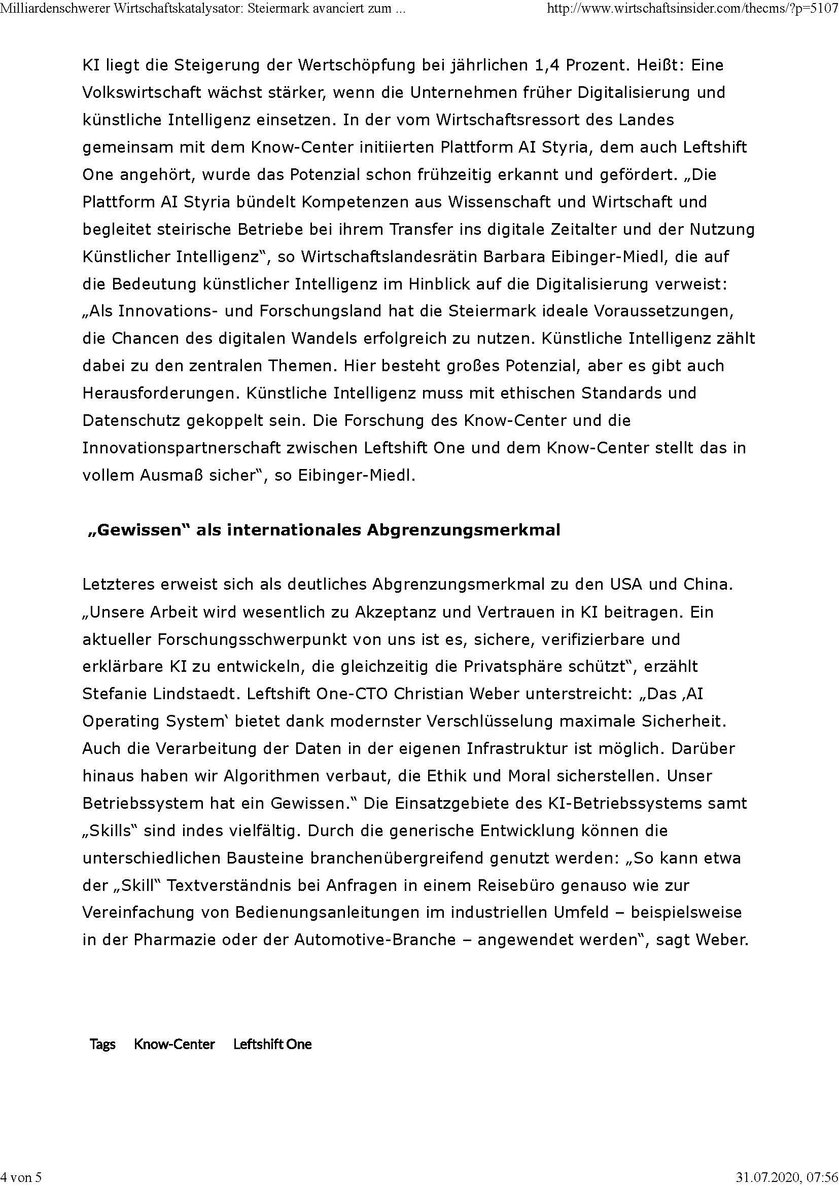 2020-07-10_Wirtschaftsinsider_Milliardenschwerer Wirtschaftskatalysator-Steiermark avanciert zum Zentrum für KI_Seite_4