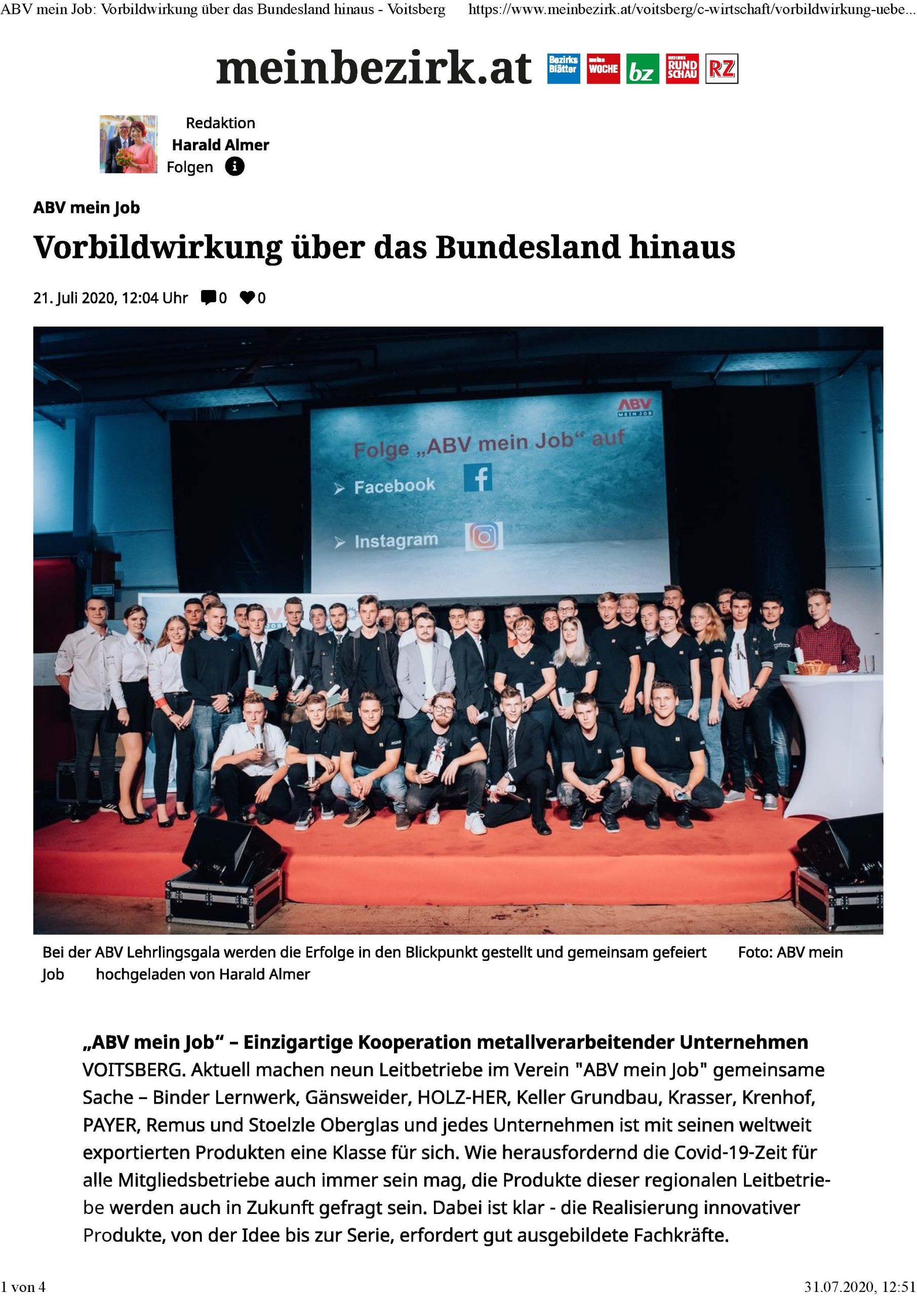 2020-07-21_MeinBezirk.at_ABV mein Job-Vorbildwirkung über das Bundesland hinaus_Seite_1