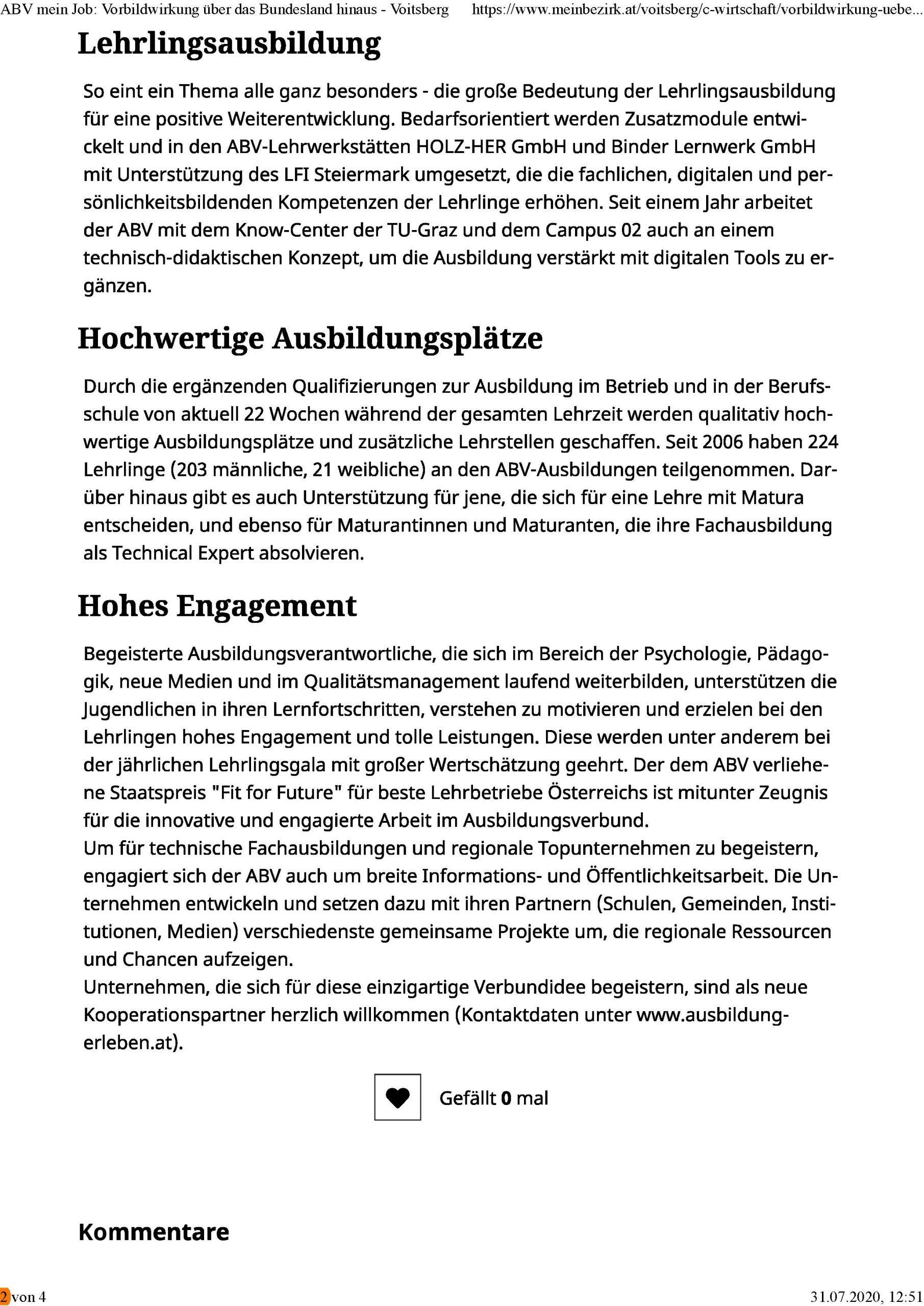 2020-07-21_MeinBezirk.at_ABV mein Job-Vorbildwirkung über das Bundesland hinaus_Seite_2
