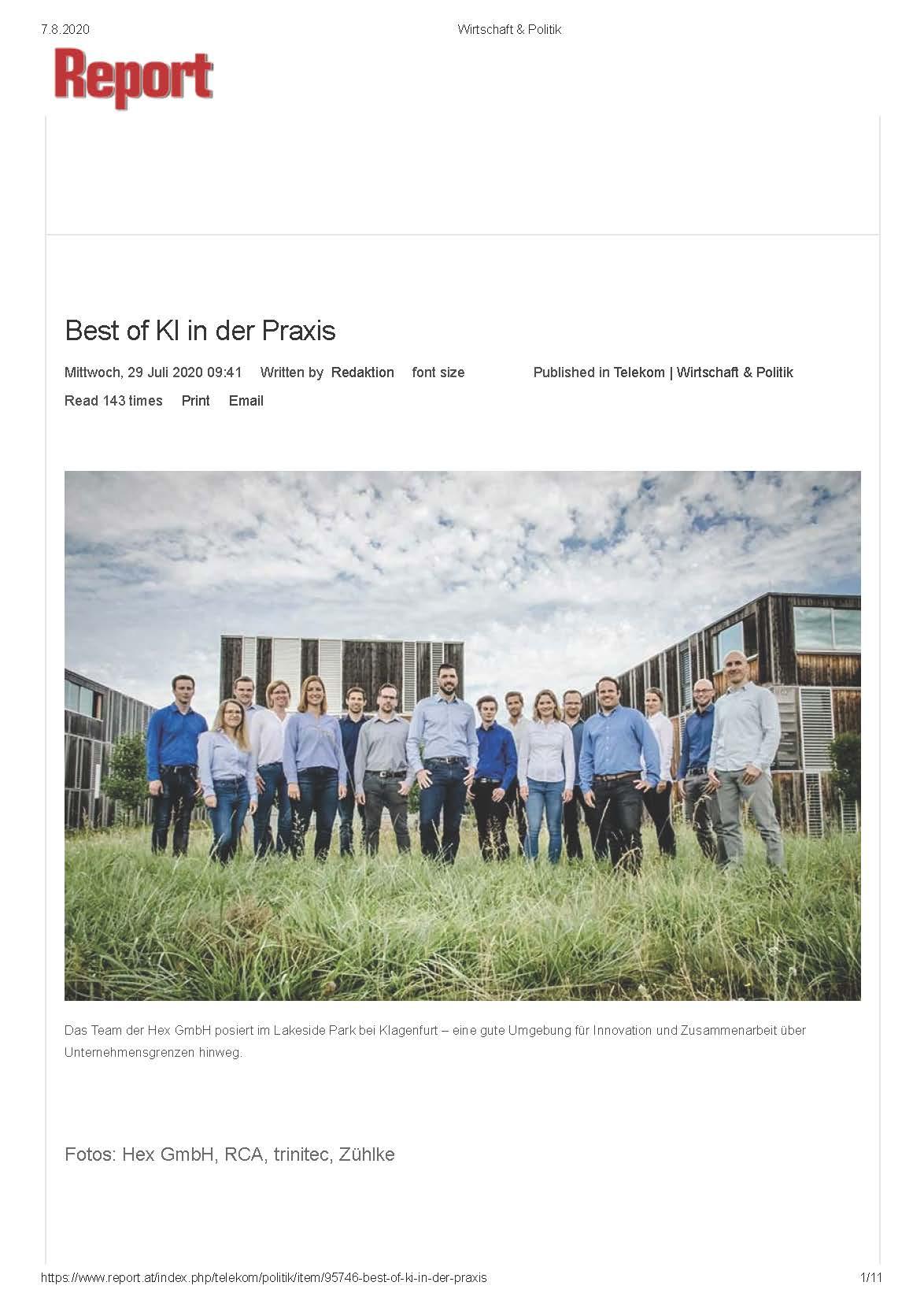 2020-08-07_Report.at_Best of KI in der Praxis_Seite_1