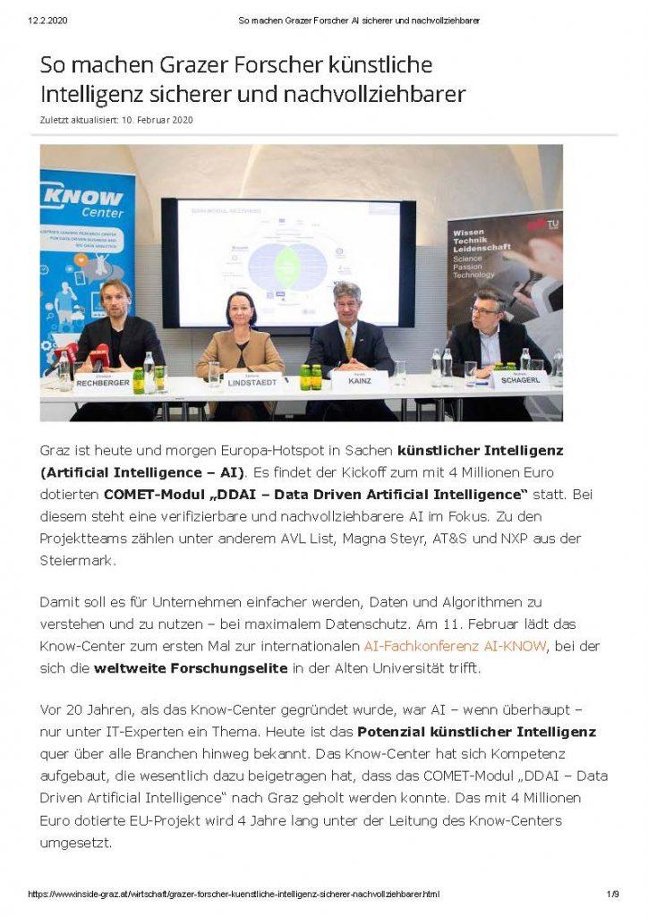 2020-02-12_inside-graz.at_So machen Grazer Forscher künstliche Intelligenz sicherer und nachvollziehbarer_Seite_1