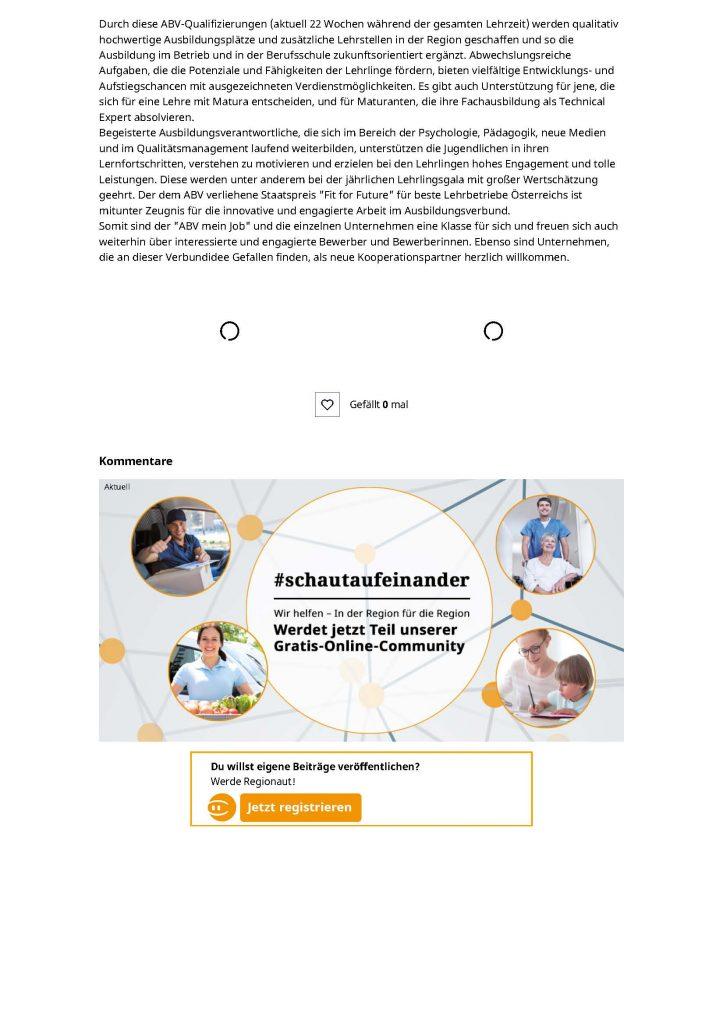 2020-09-29_meinbezirk.at_Lehrlingsausbildung von groesster Bedeutung_Seite_2