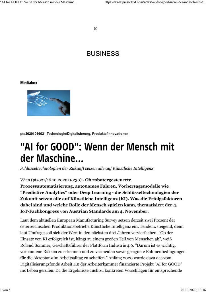2020-10-20_AI for Good-Wenn der Mensch mit der Maschine_Seite_1