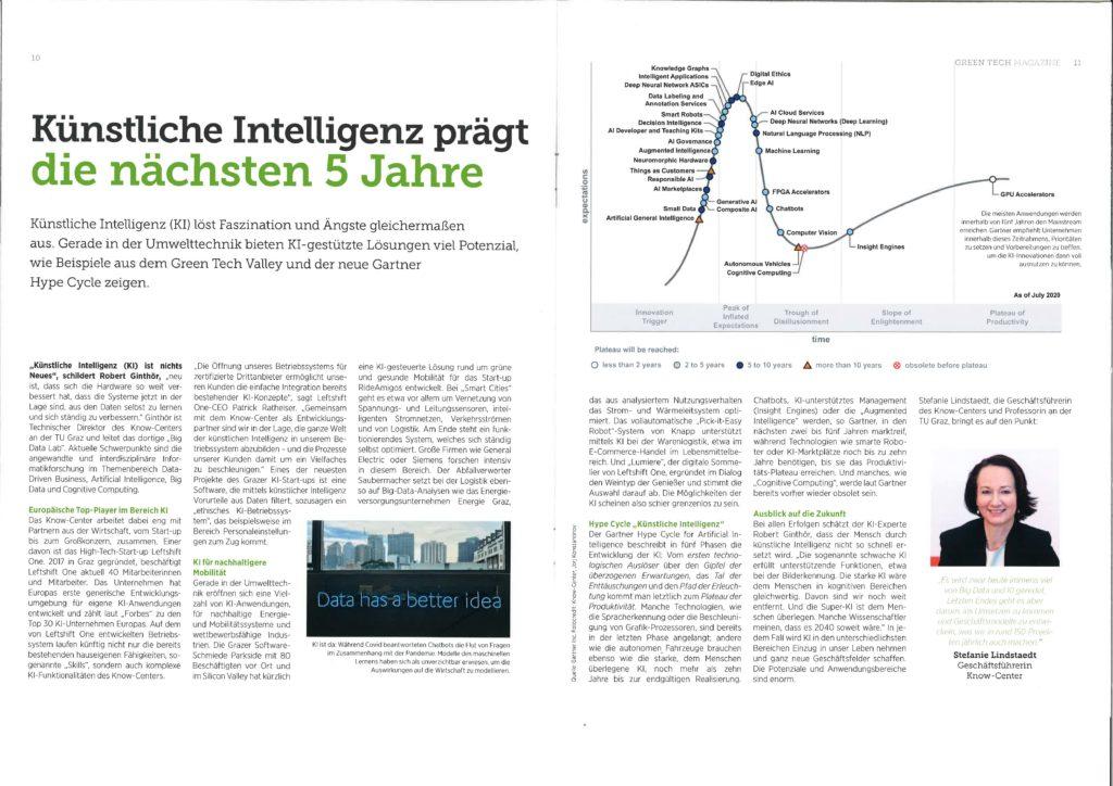 2020-11-30_GreenTechMagazine_KI prägt die nächsten 5 Jahre