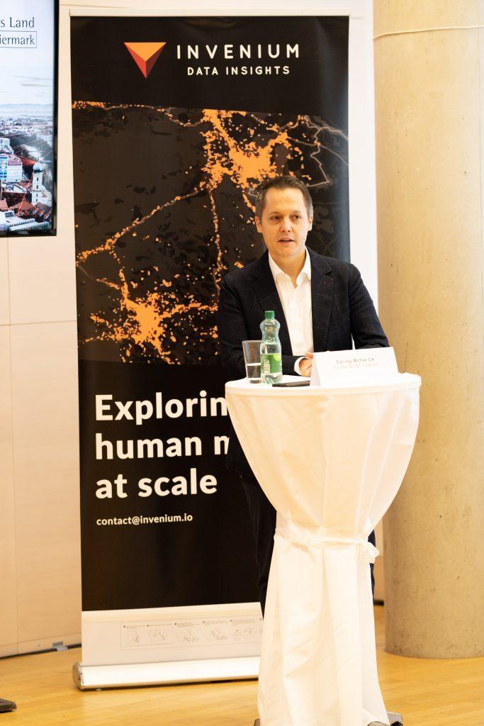 Virtuelles Pressegespräch: Invenium - Marktführer im Bereich digitaler Mobilitätsanalysen
