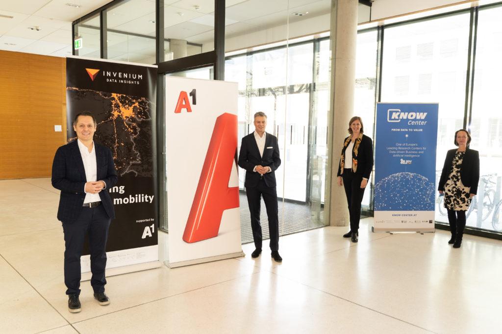 A1 Telekom Austria übernimmt Mehrheit an Analytics-Start Up INVENIUM