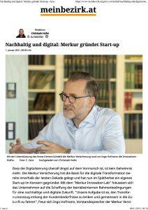 Nachhaltig und digital: Merkur gründet Start-up