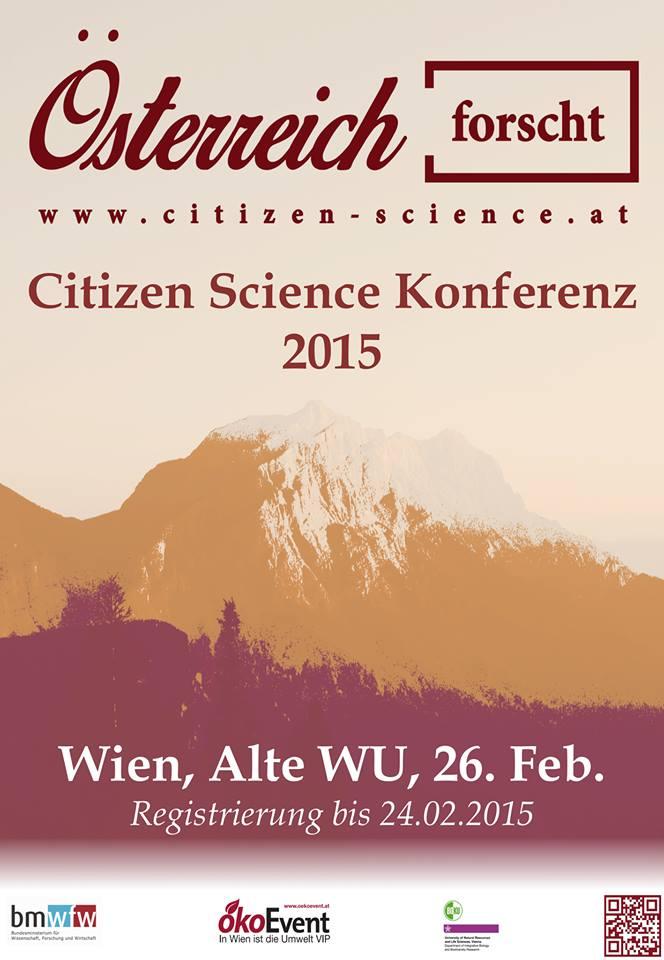 Know-Center Vortrag auf Citizen Science Konferenz