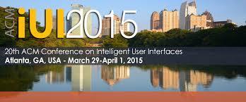 Know-Center Poster auf der renommierten IUI 2015 akzeptiert