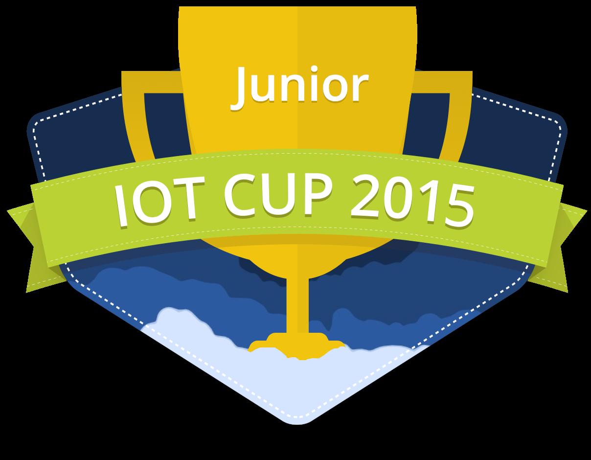 Blumen(topf)roboter schafft es auf den IoT Junior Cup 2015!