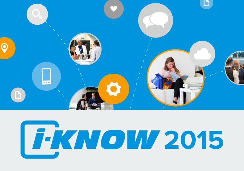 Das war die i-KNOW 2015!