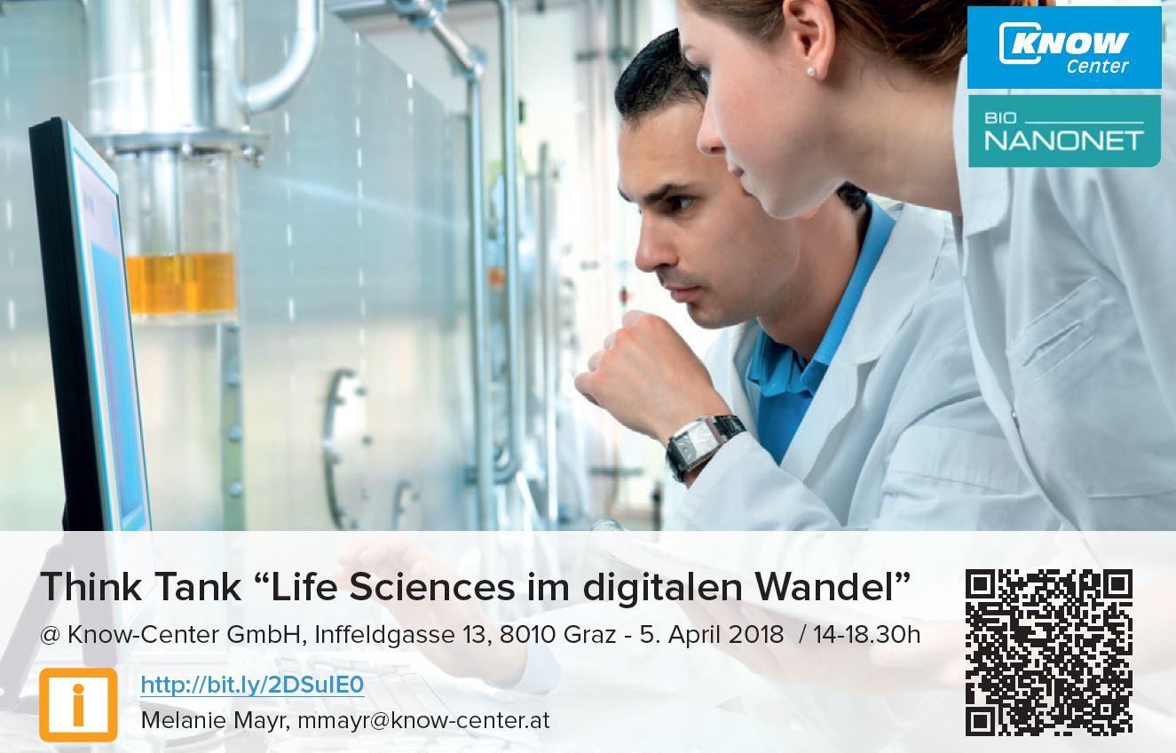 Think Tank – Life Sciences im digitalen Wandel