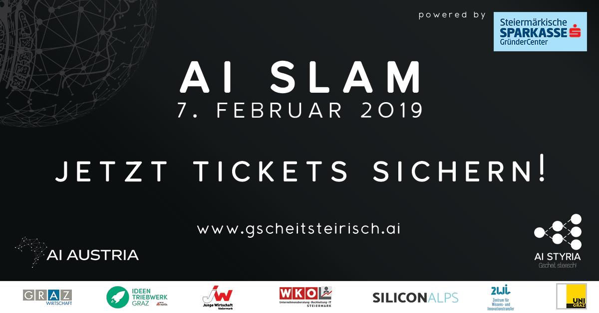 Know-Center gibt auf AI Slam Wissen zum Thema Künstliche Intelligenz weiter