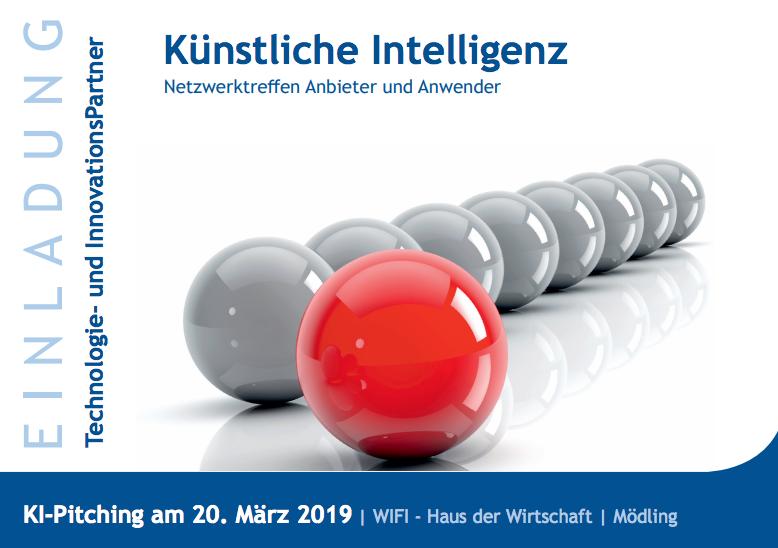Know-Center berät auf dem Event KI Pitching über Künstliche Intelligenz