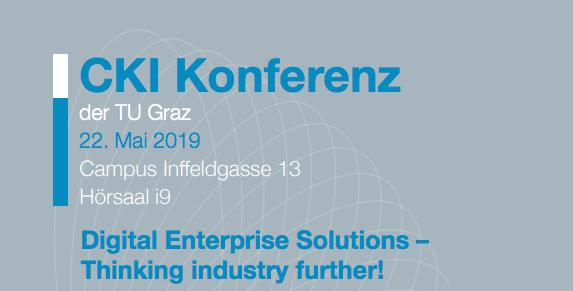 CKI Konferenz an TU Graz zur digitalen Transformation