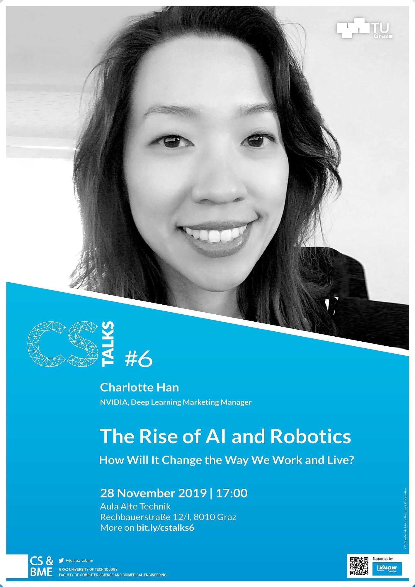 6. CS Talks über veränderte Arbeitswelten durch Künstliche Intelligenz