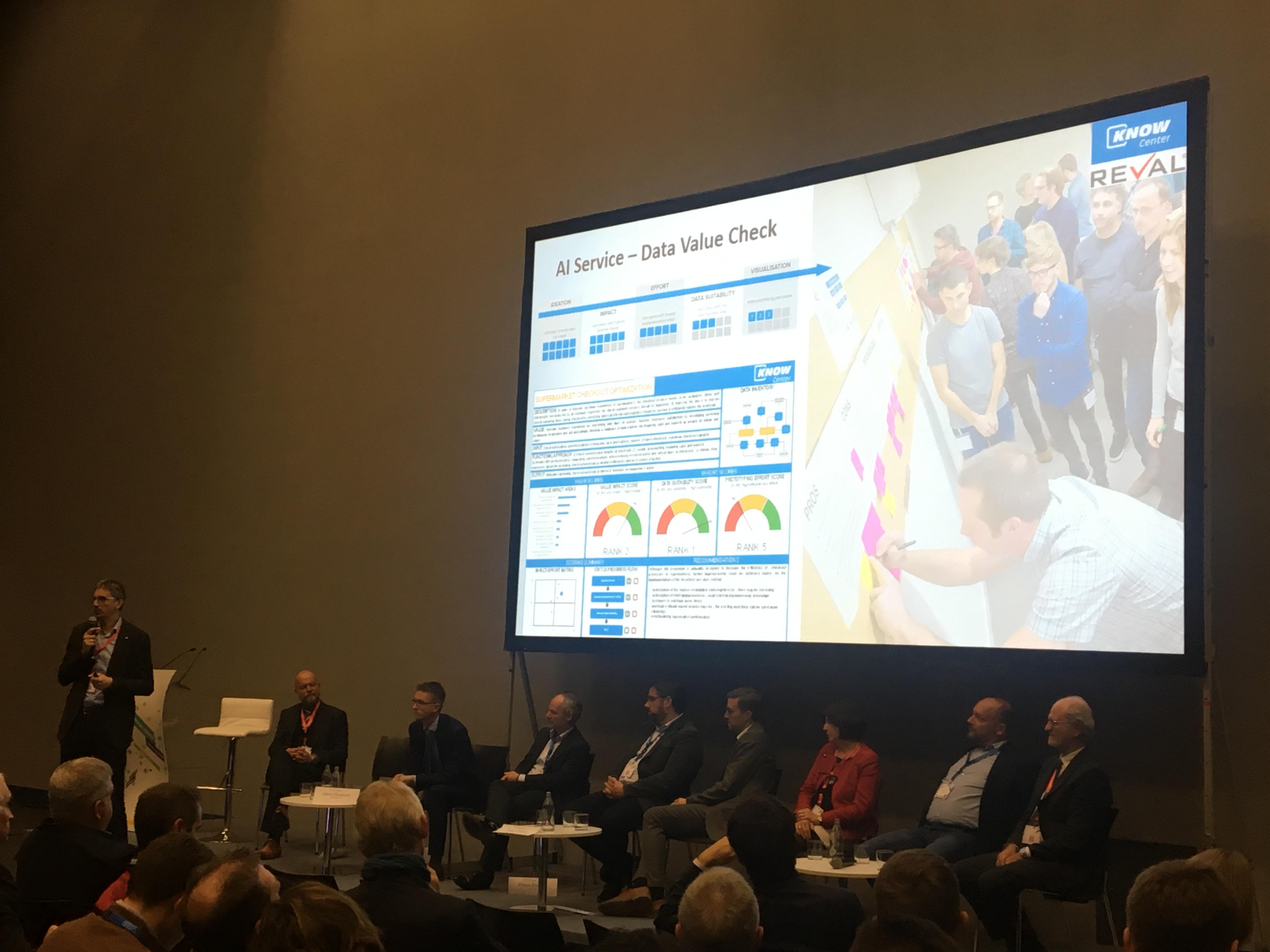 Know-Center @ Digitising European Industry Stakeholder Forum '19